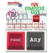 Fun Computer Keys (2 Pack) - Any Key, Panic Button